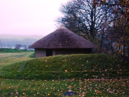 This was my hut at Ardeonaig