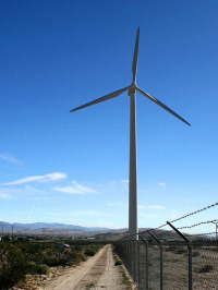 wind turbine green