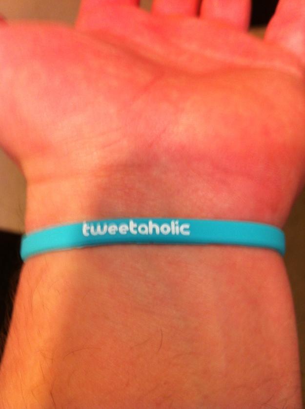 Twitter Wristband